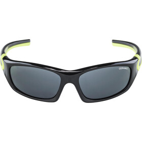 Alpina Flexxy Glasses Teen black-neon yellow